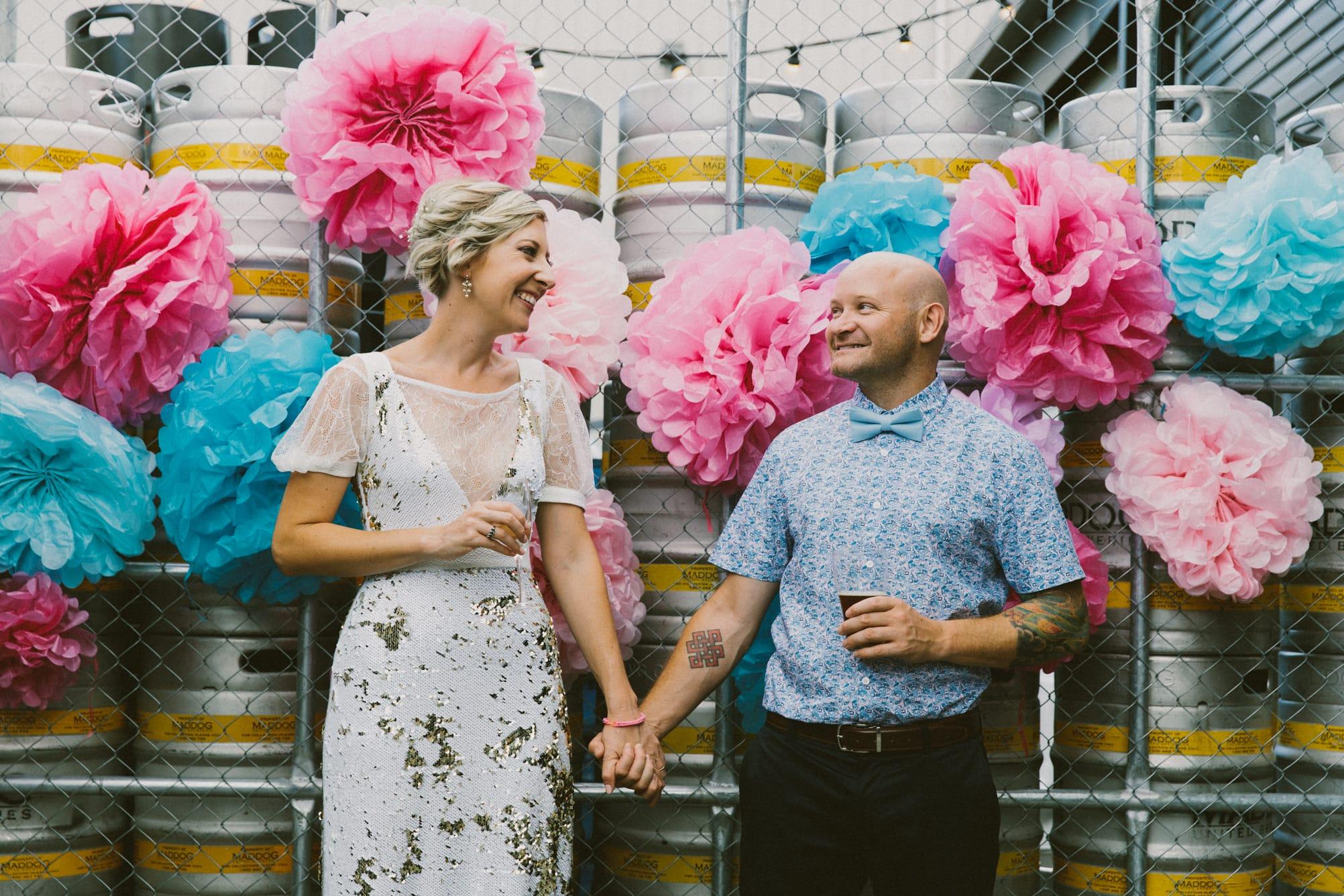 Brewery Wedding