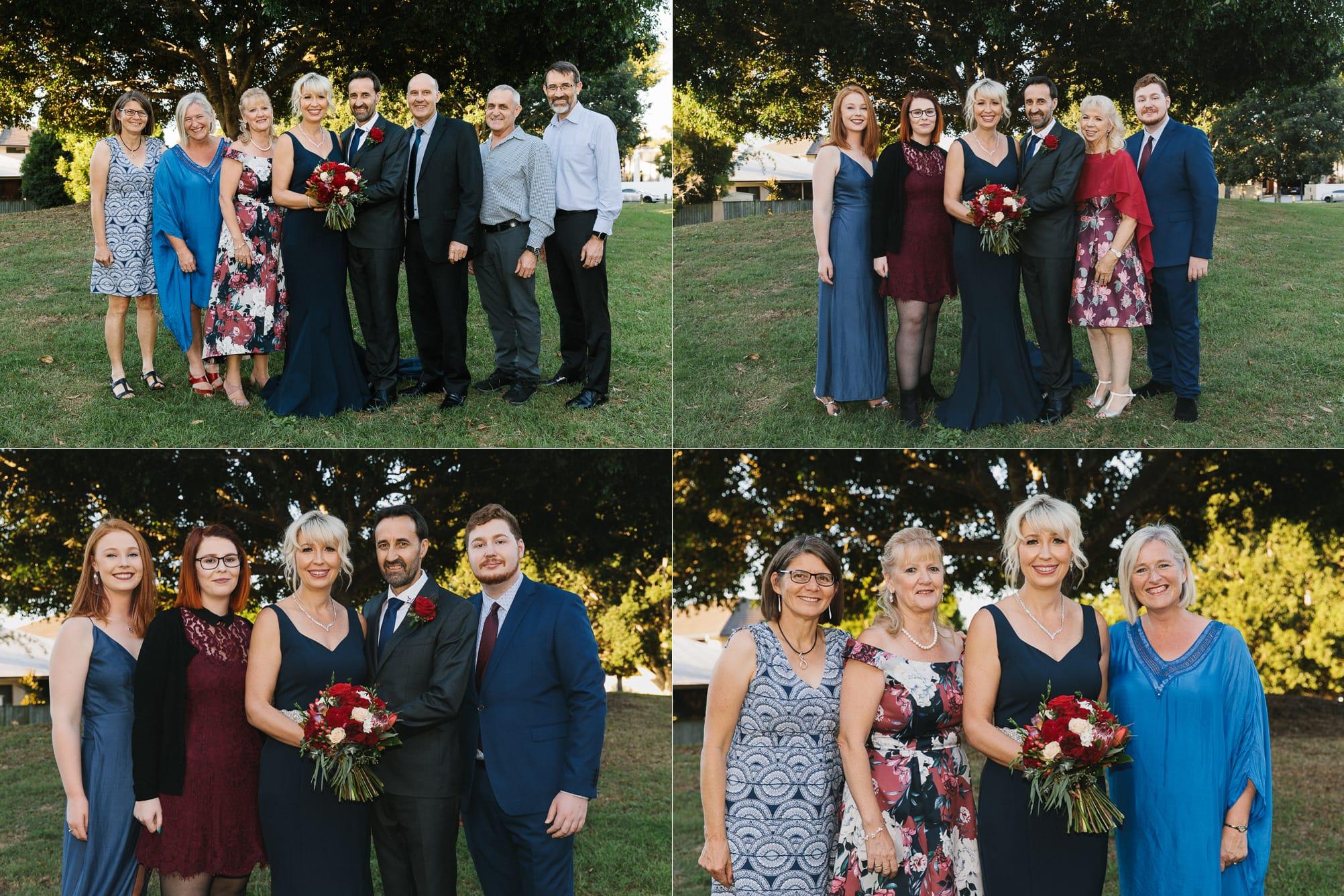 Bridgeman Downs wedding