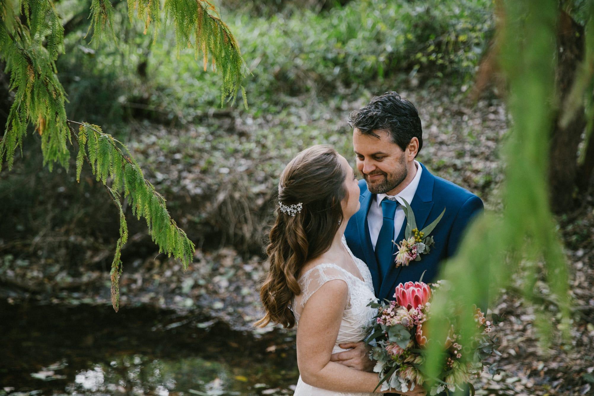 Bundaleer rainforest gardens wedding photos