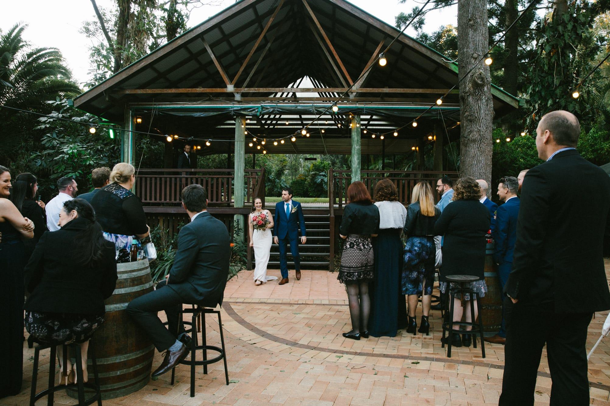 Bundaleer rainforest gardens wedding photographer