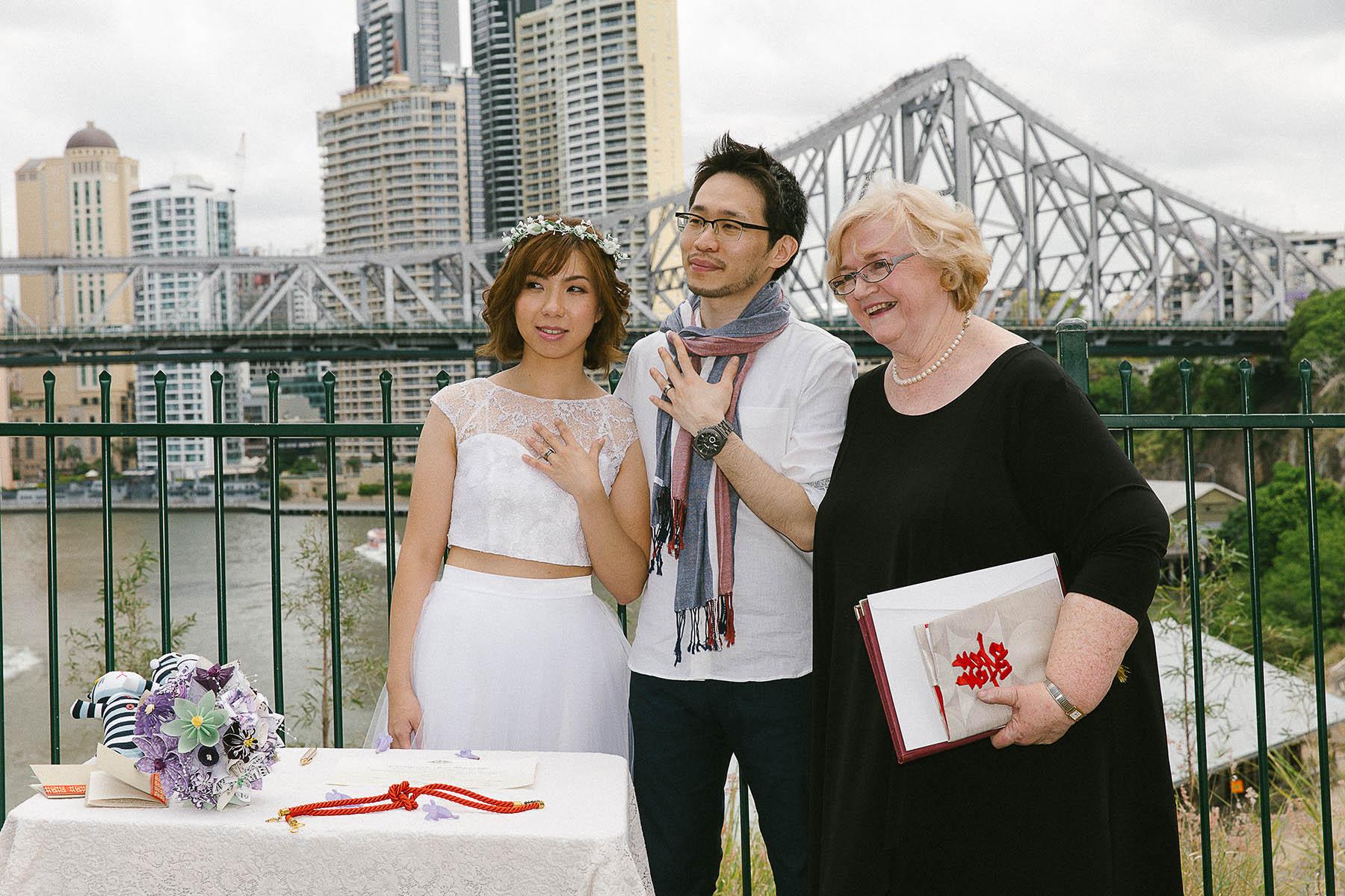 Brisbane wedding ceremony