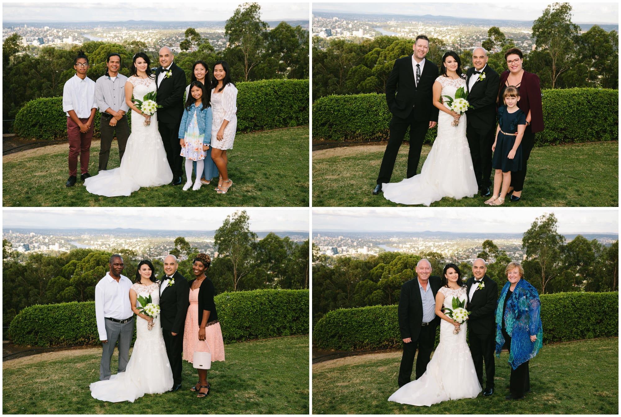 Mt Cootha Wedding