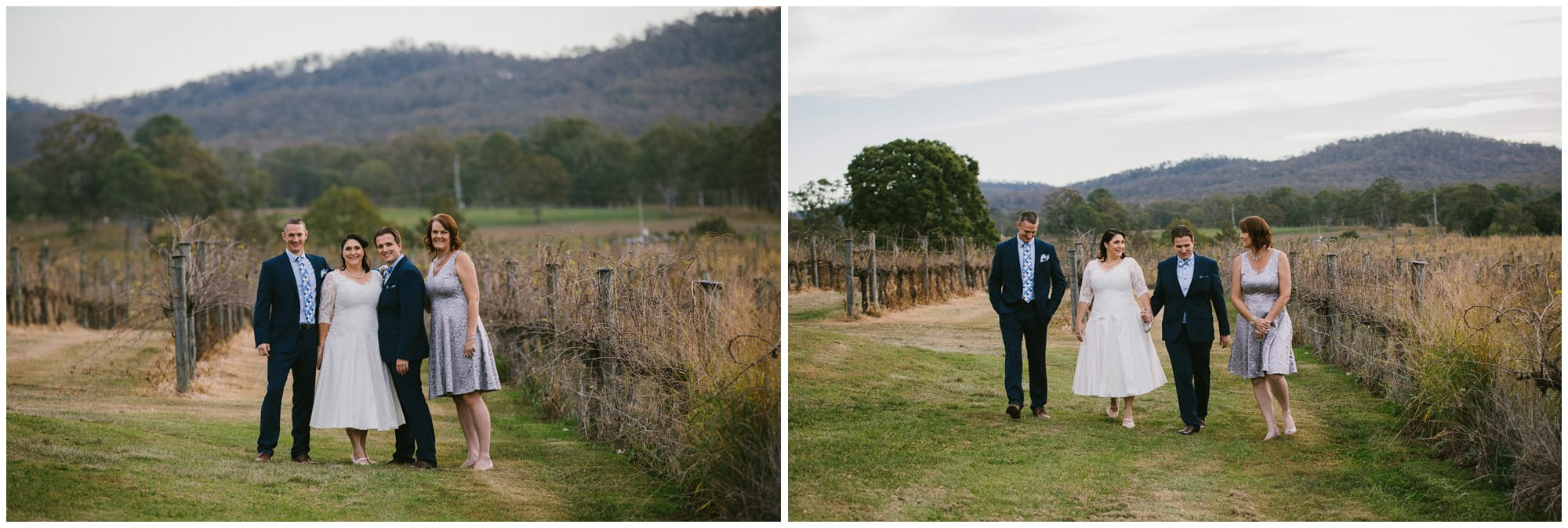 Albert River Winery wedding photographerer