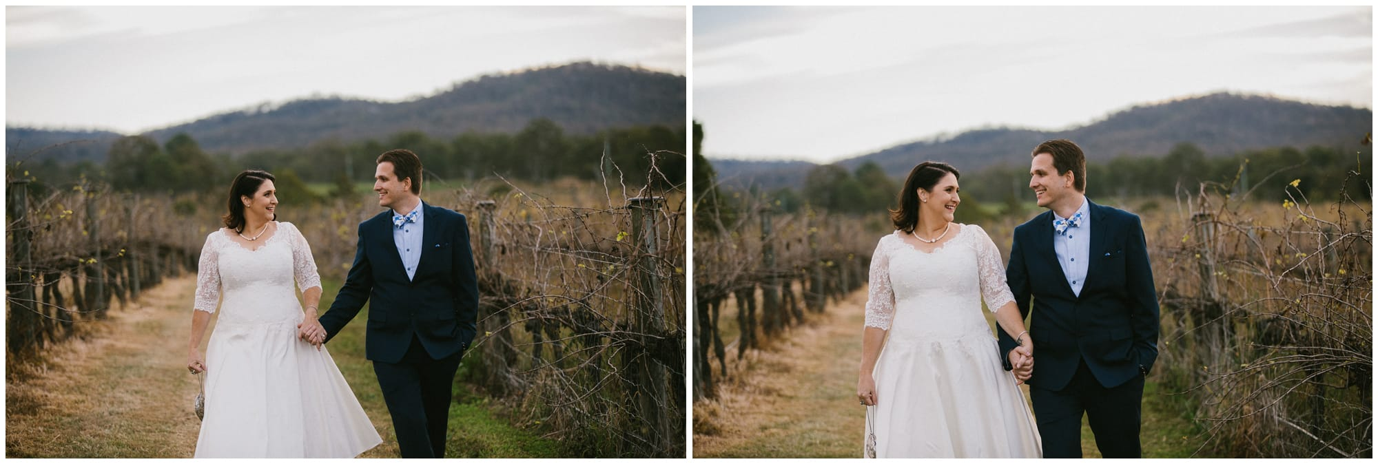 Albert River Wines wedding photograph