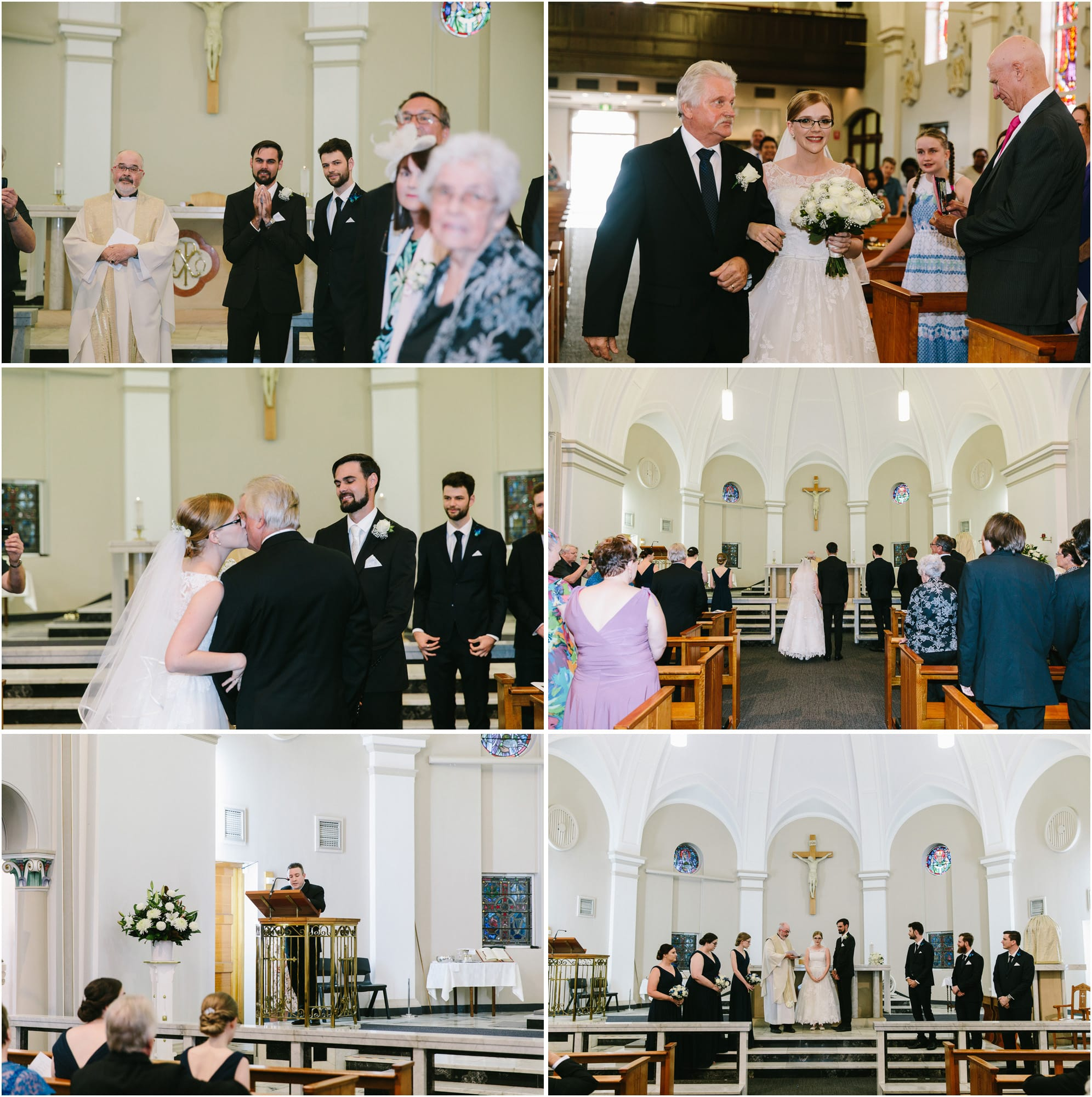 catholic church wedding photography