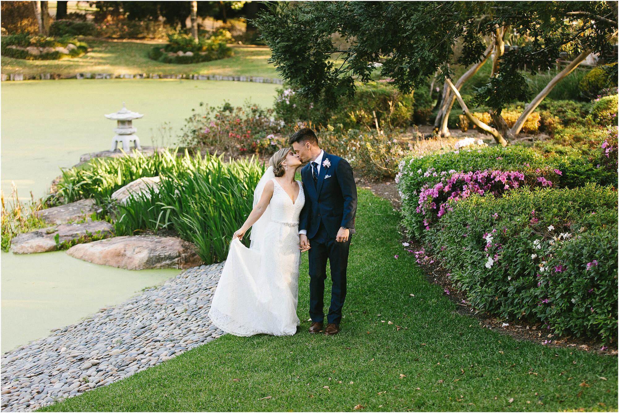 Wedding at Nerima gardens