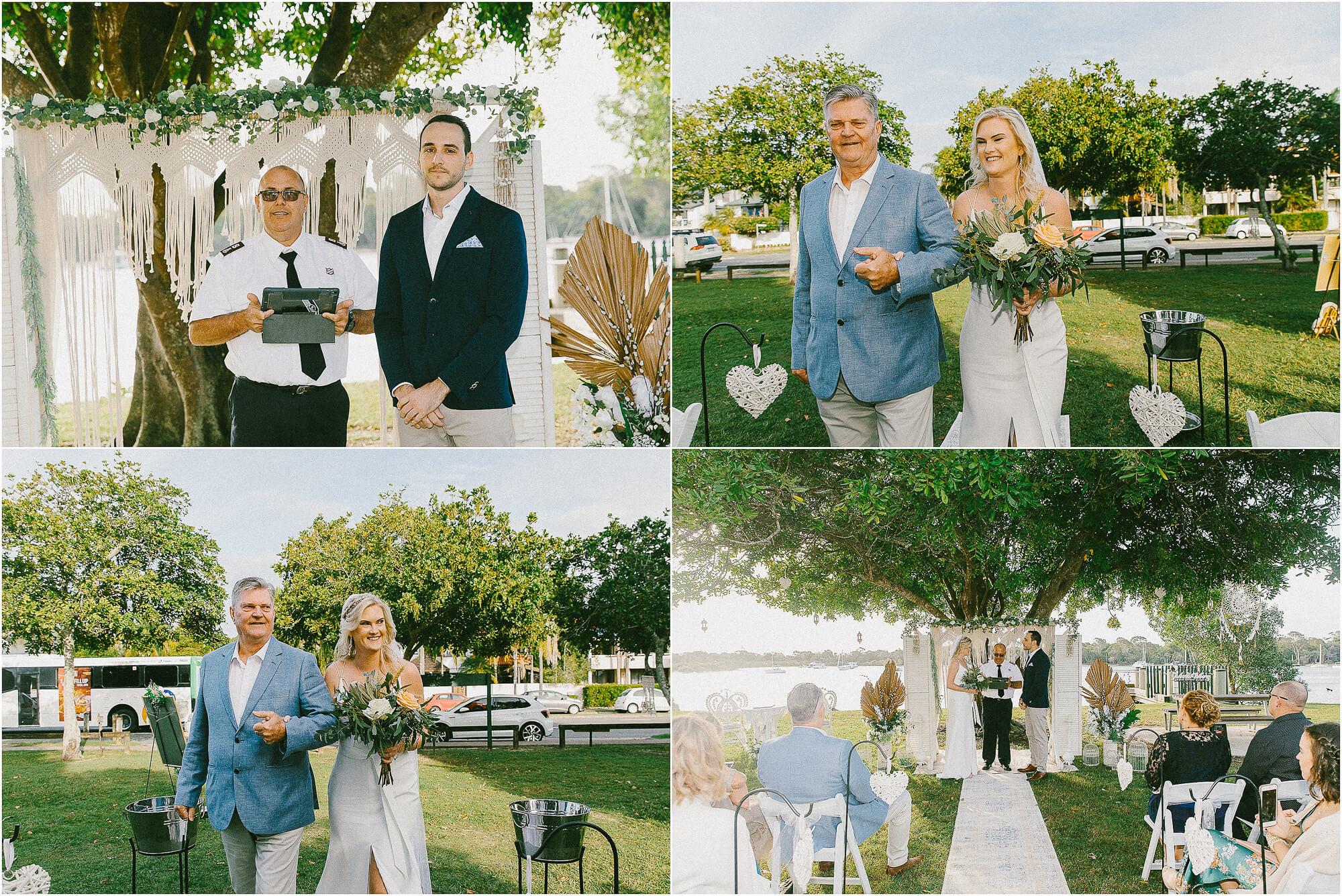 noosa park wedding