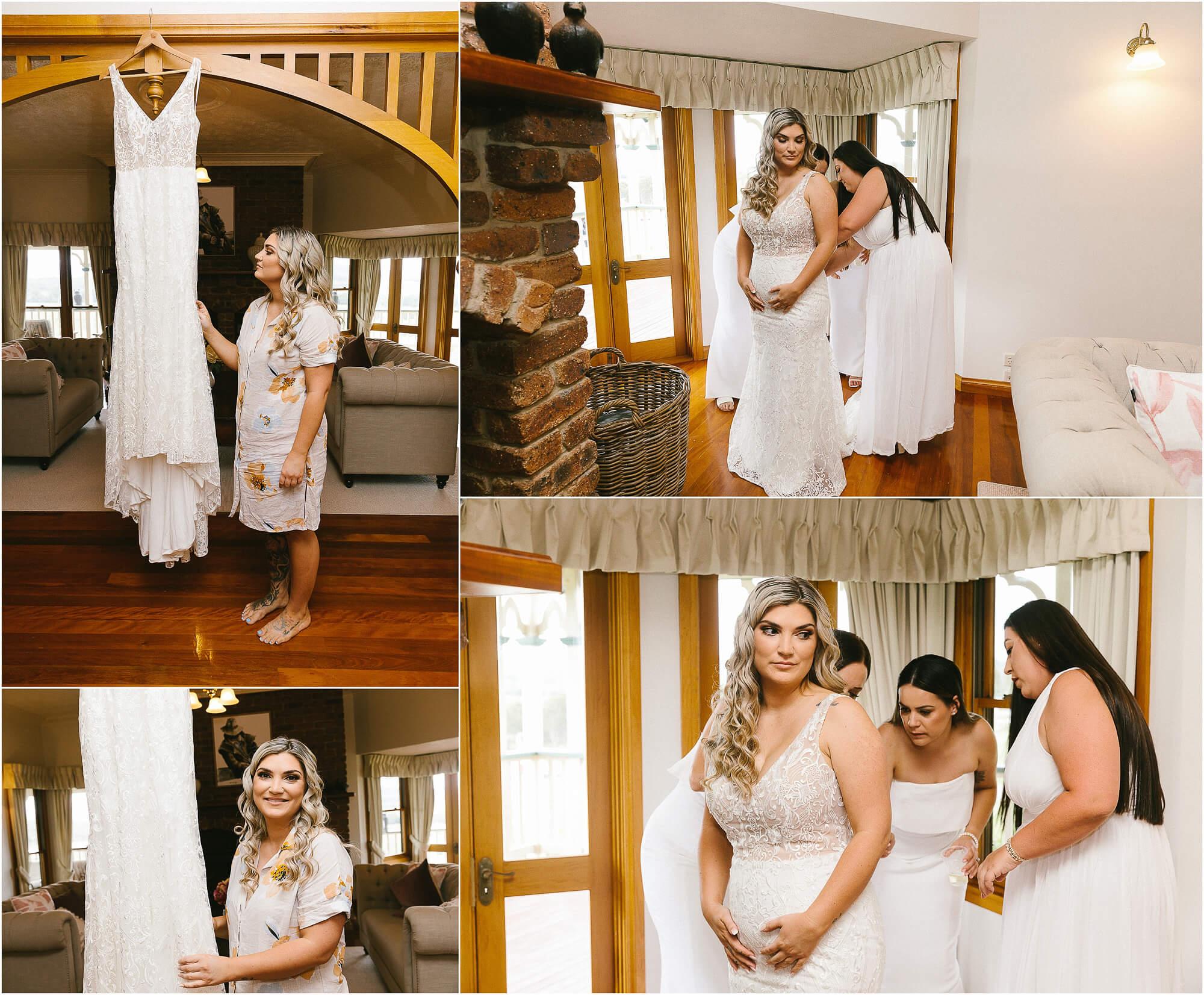 royston house wedding preparation